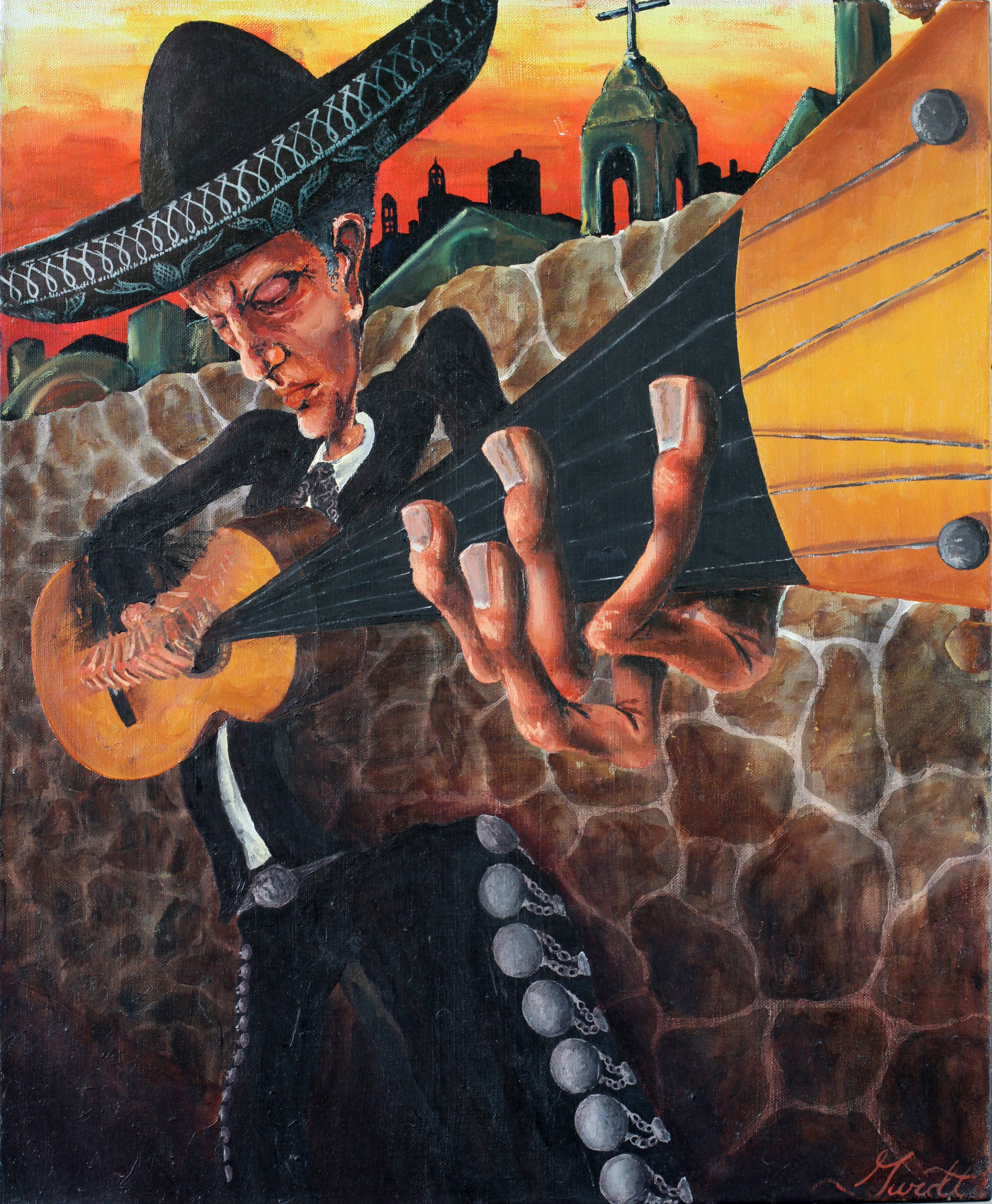 El Guitarista Solitario