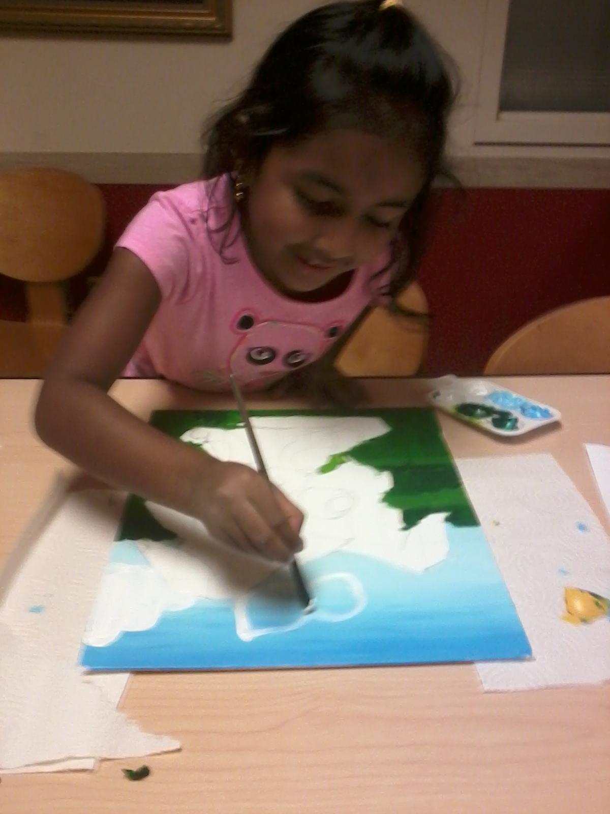 Playful Palette art class