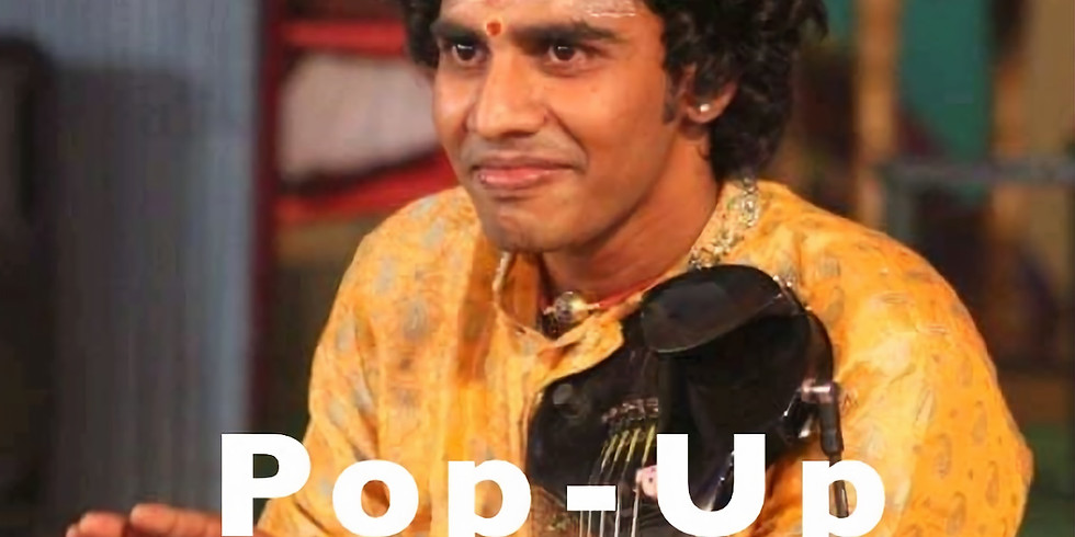 Indian Classical Music Pop-Up Concert