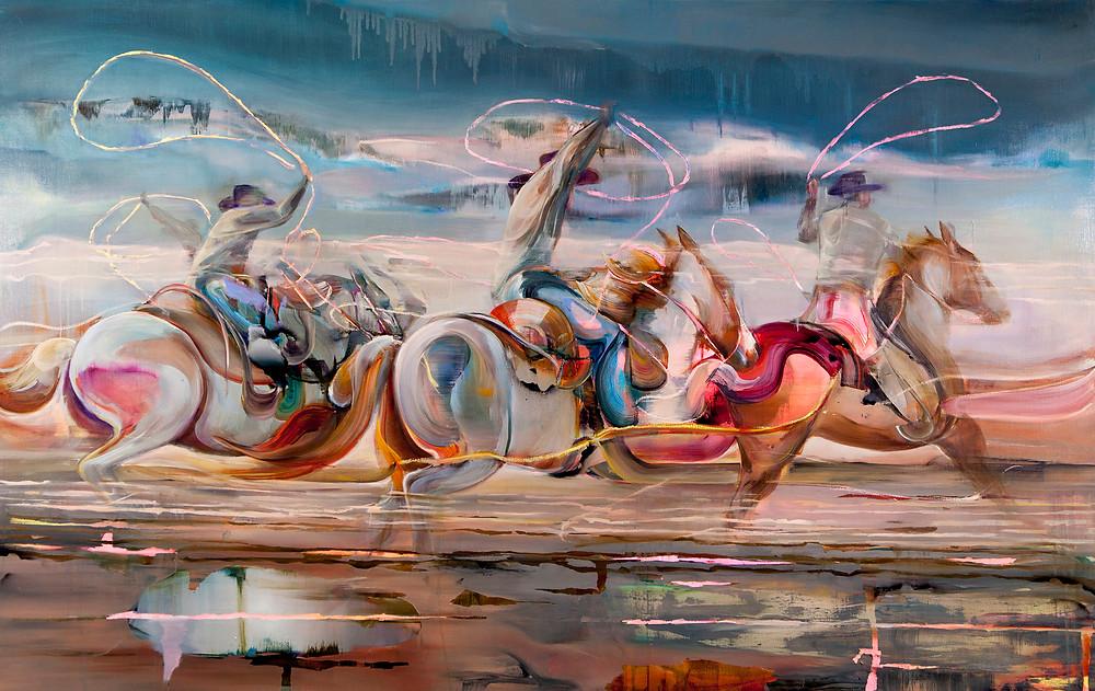 220 x 170 cm / Oil on linen