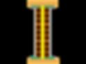 ensayo acustico macheton de 7 cm bandas perimetrales y enlucido 54 dba