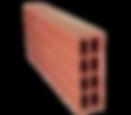 ladrillo macheton de 50 huequería