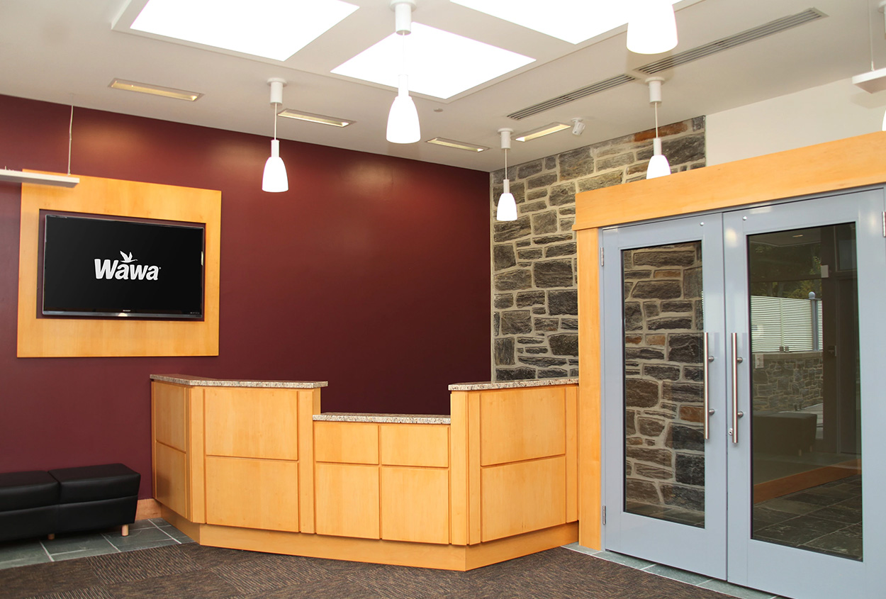 Wawa - Reception Desk