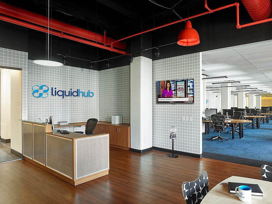 LiquidHub Reception