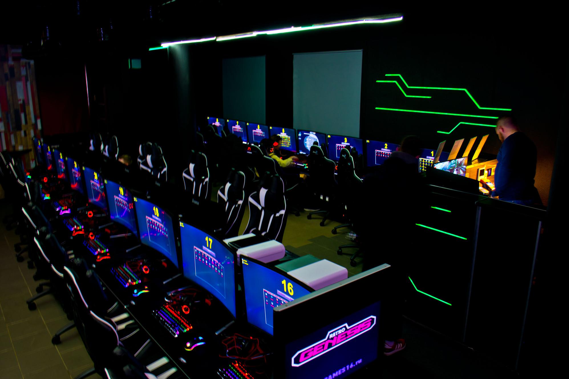 Ночной кибер клуб парка клуб москва