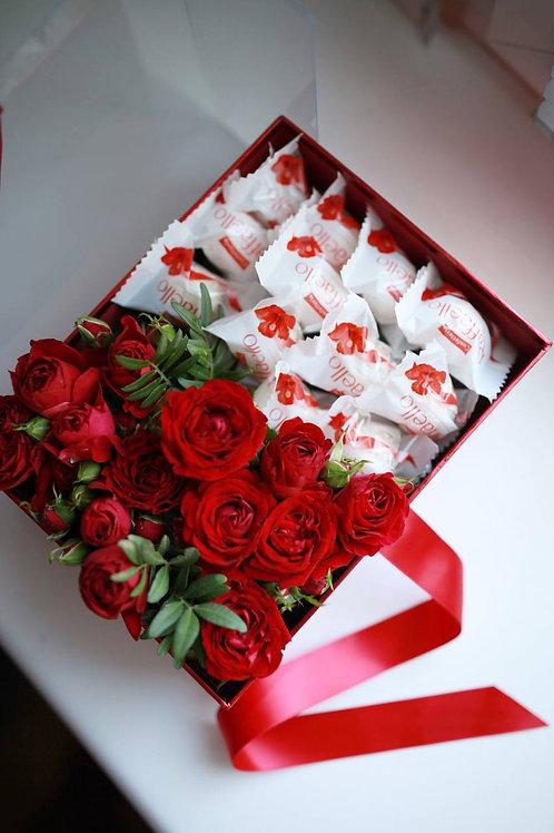 Короб Розы+Рафаелло