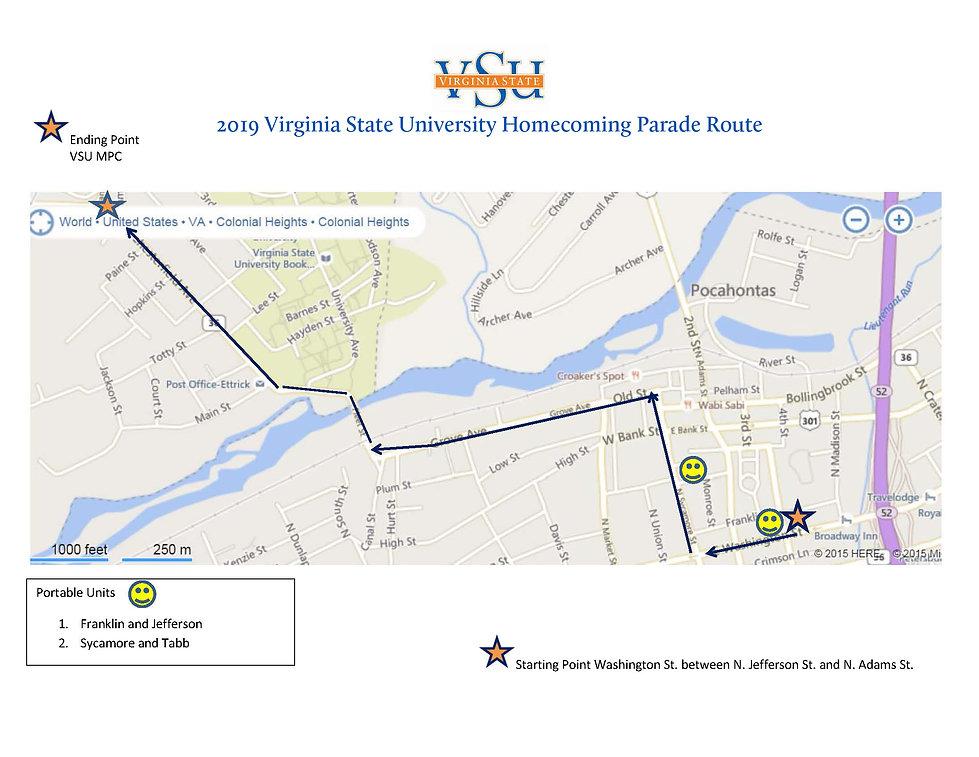 VSU Homecoming Parade Route Map 2019.jpg