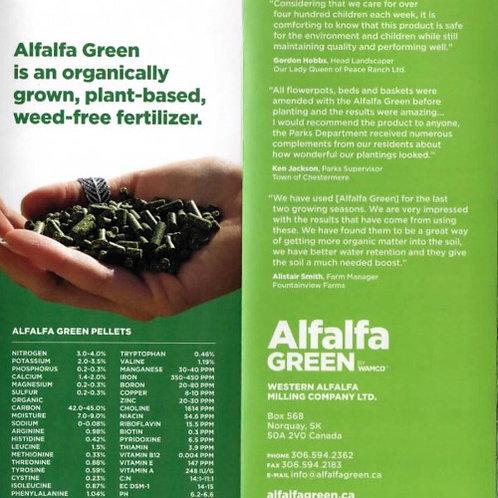 Alfalfa Green Pellets 22KG Bag