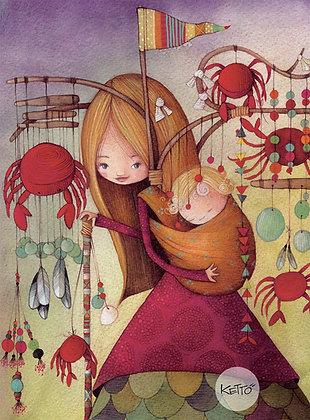 Notebook -Crabs & Baby