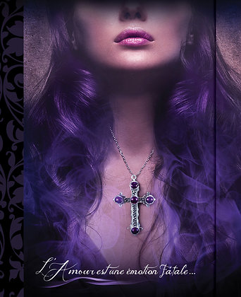 Journal - Violet Cross
