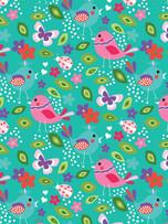 Lock Journal - Flower & Bird