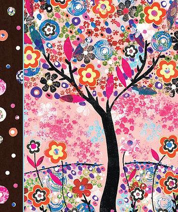 Soft Cover Journal - Flower Tree