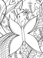 Lock Journal - Butterfly