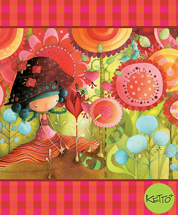 Notebook - Jungle Flowers