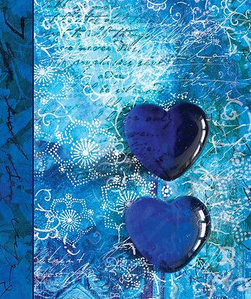 Journal - Blue Hearts