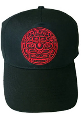 Embroidered Cap (Black) - Nawila Tsula