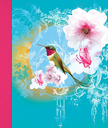 Soft Cover Journal - Hummingbird