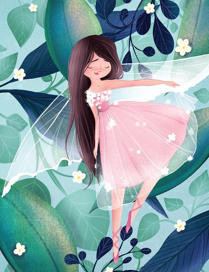 Lock Journal - Leaf Fairy