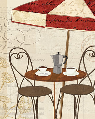 Journal - Cafe terrace