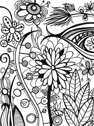 Lock Journal - Flowers