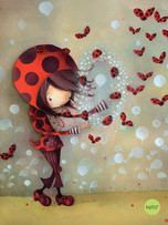 Soft Cover Journal - Ladybugs