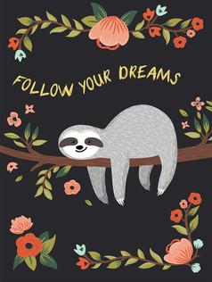Journal - Follow Your Dreams