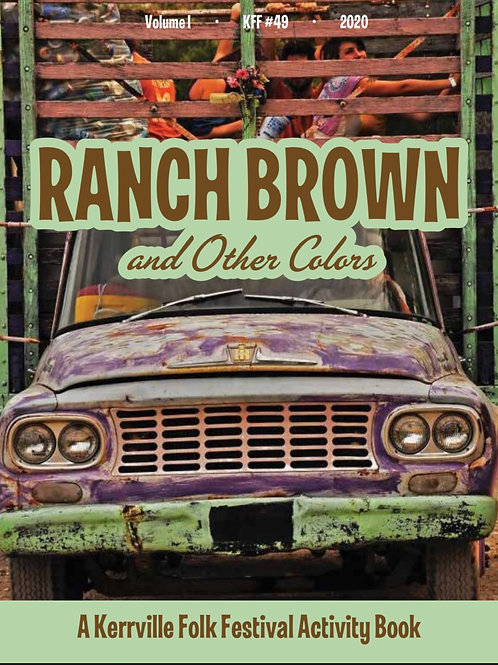 """""""RANCH BROWN & OTHER COLORS"""" KFF COLORING BOOK"""