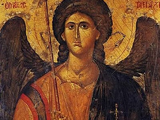 Feast of Holy Archangel Michael and all the Heavenly Hosts, Wed., Nov. 8th. 11:30am Divine Liturgy.