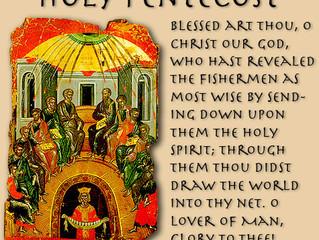 Pentecost Sunday / All-Holy Trinity