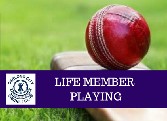 LIFE MEMBERSHIP - PLAYING