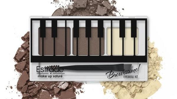 Набор для макияжа бровей  Browissimo 2 оттенка+воск 102