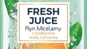 FRESH JUICE Увлажняющая мицеллярная жидкость, Апельсин, 100 мл