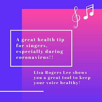 A great health tip for singers!! websit
