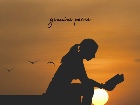 Friday, October 16th - Becoming More Peaceful