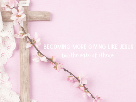 Tuesday, December 15th - Becoming More Giving