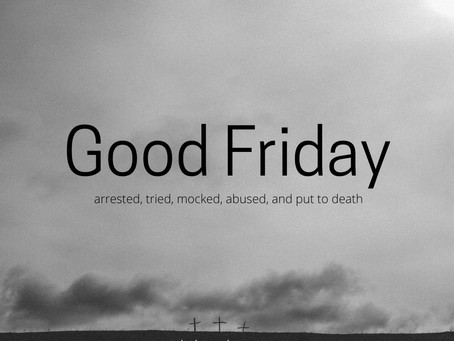 Friday of Holy Week