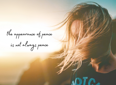 Thursday, October 8th - Becoming More Peaceful