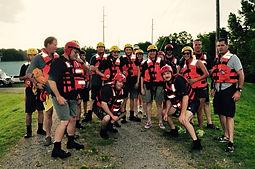 DLSC swift water rescue team
