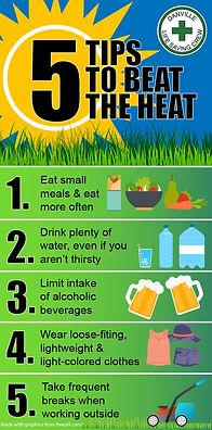 beat the heat tips