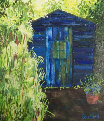 Little Blue Hut