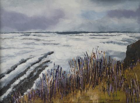 Stormy Sea near St Andrews