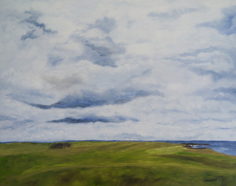 Clouds over Crail Links