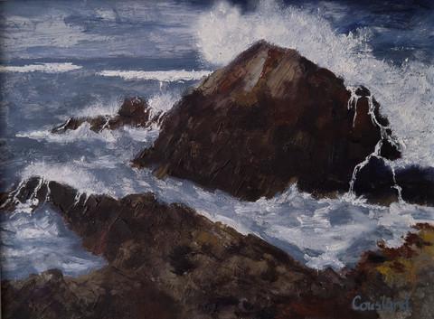 Stormy Sea, Fife Ness