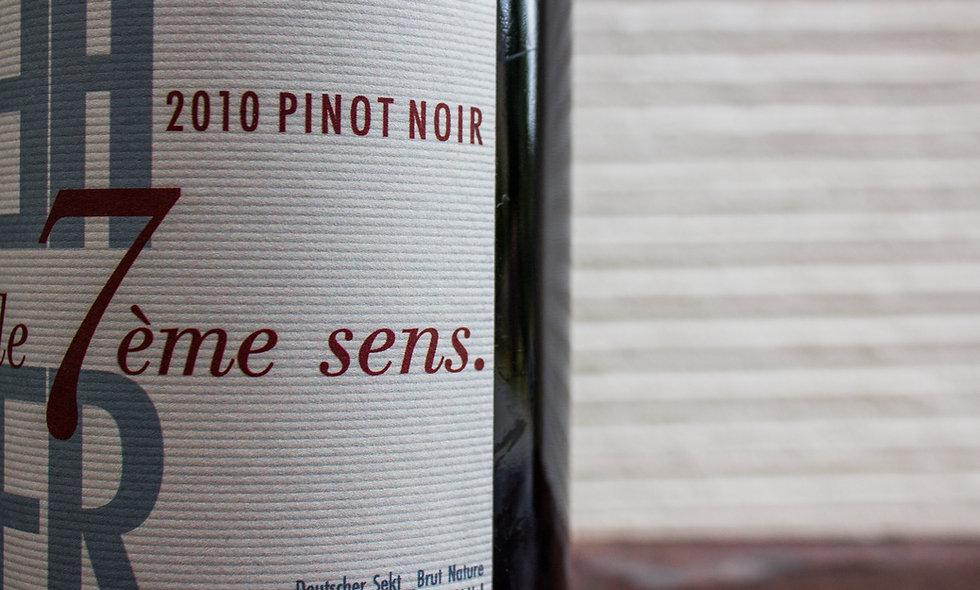 """""""le 7ème sens"""" Pinot Noir ´10 Sparkling"""
