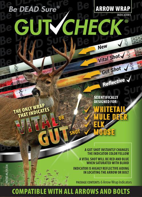 Whitetail, Mule Deer, Elk, Moose Arrow Wrap Indicator