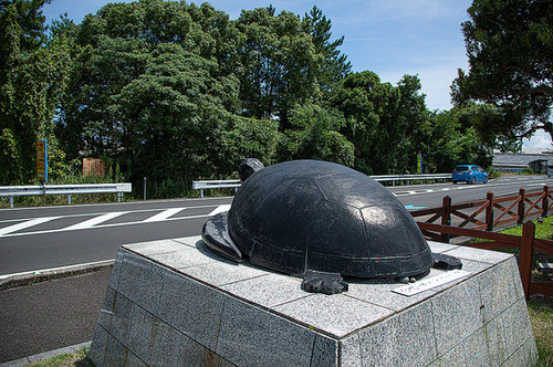 那智黒石のウミガメ
