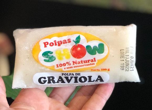 POLPA DE GRAVIOLA - 100% NATURAL - 100G