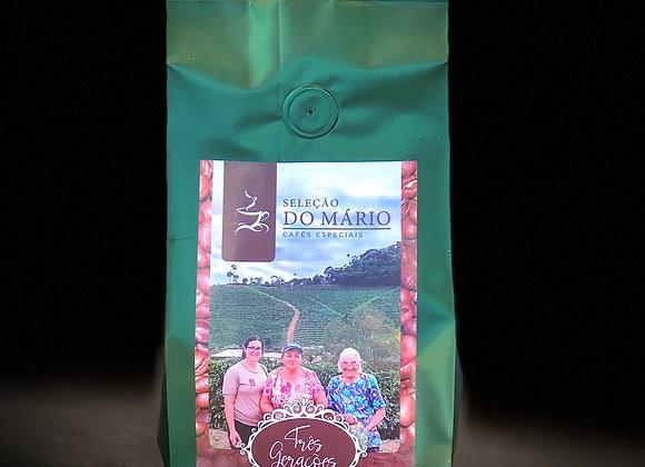 CAFÉ DO MÁRIO TRÊS GERAÇÕES - 250g MOÍDO