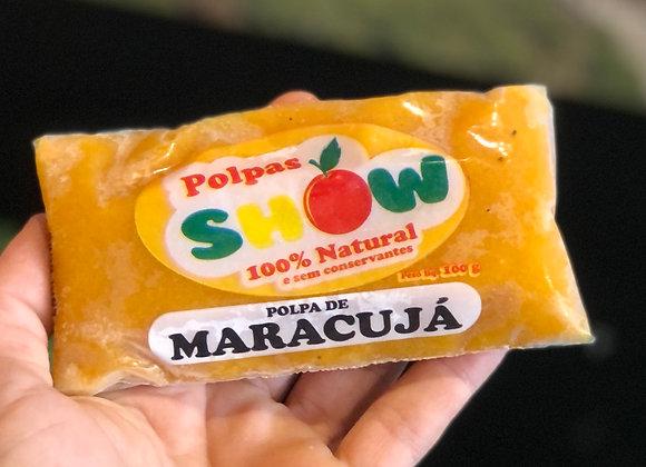 POLPA DE MARACUJÁ - 100% NATURAL - 100G