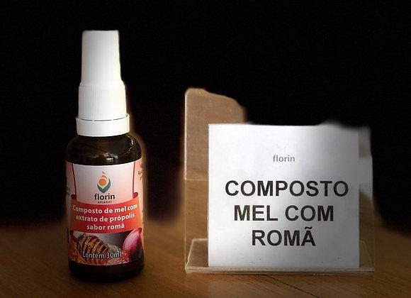 SPRAY DE PRÓPOLIS - 30ml - MEL COM ROMÃ